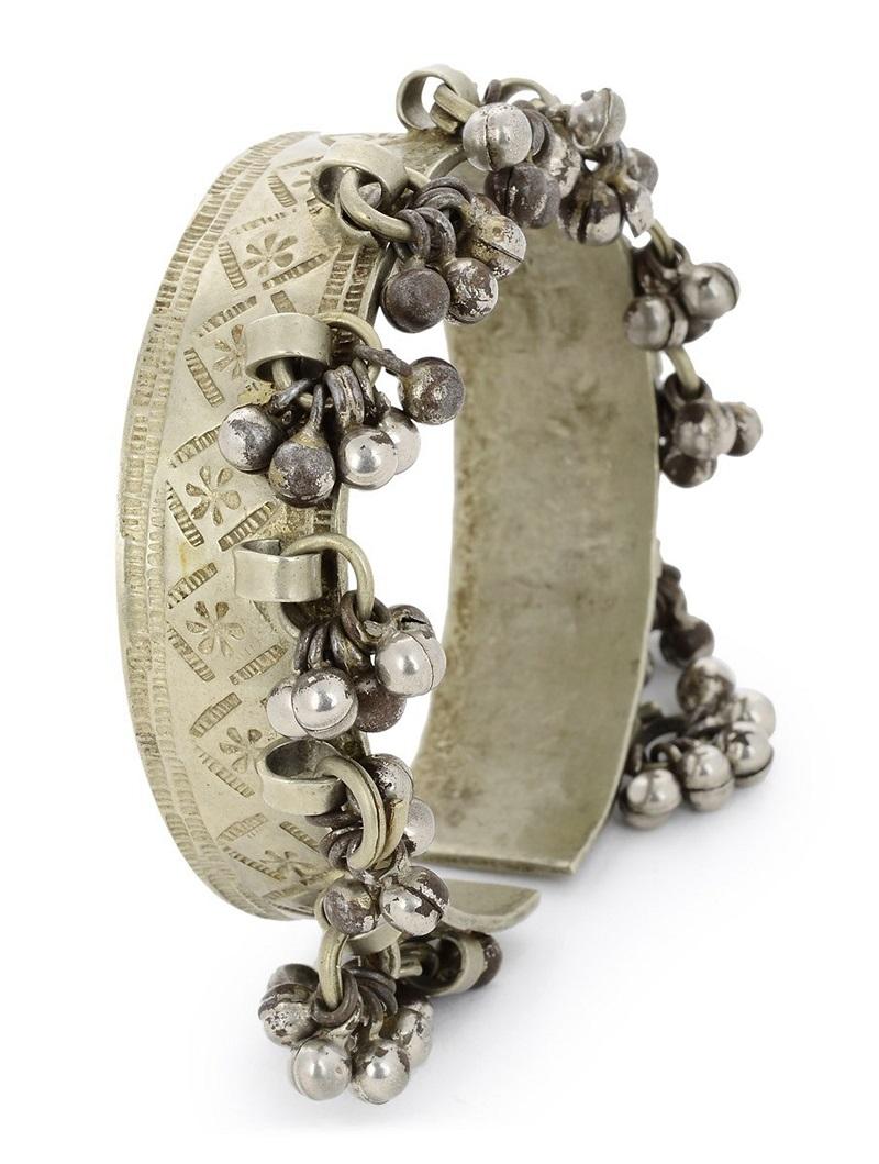 silver kada for women