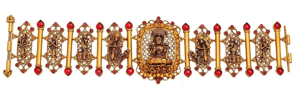 Temple deity jewellery