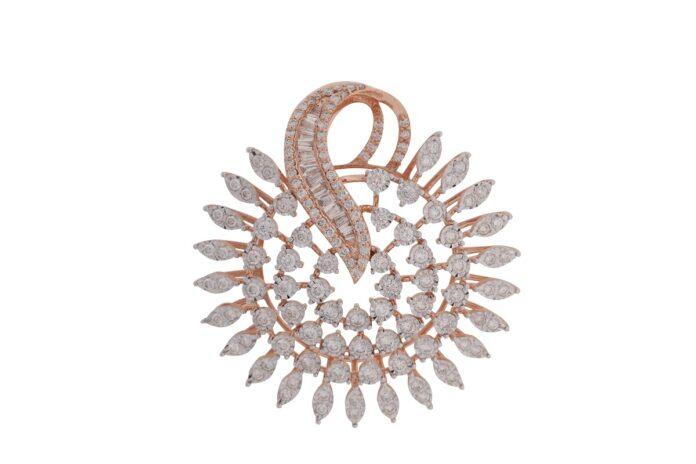 Lightweight diamond jewellery