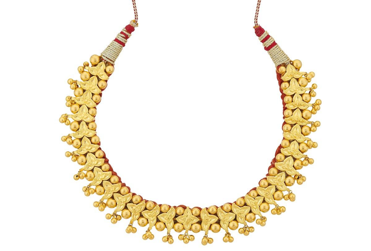Thushi Haar Reliance Jewels