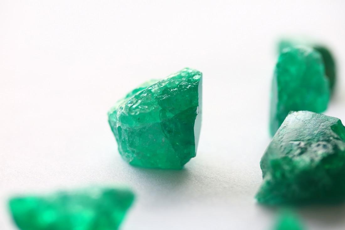 Rough Colombian Emeralds (Fura Gems Inc)