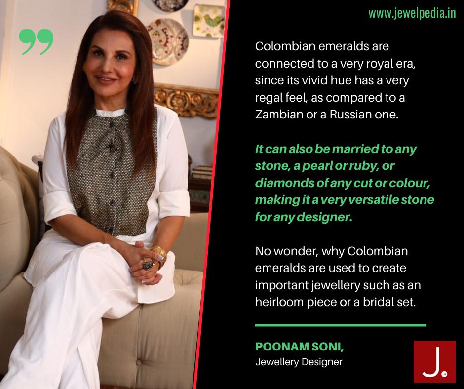Poonam Soni Jewellery Designer