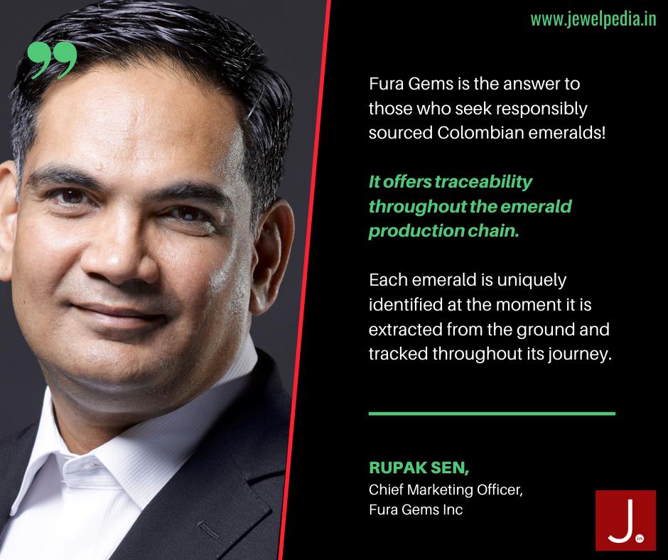 Rupak Sen, Chief Marketing Officer, Fura Gems INC