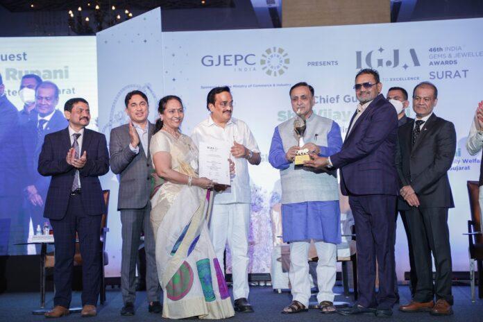 Kiran Gems Wins Esteemed IGJ Award For The 12th Consecutive Year